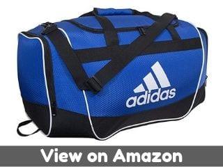 adidas Unisex Defender II Small Duffel Bag, Bold Blue, ONE SIZE