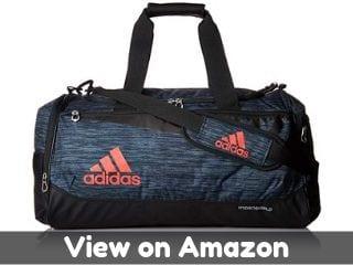 adidas Unisex Team Issue Medium Duffel Bag, Onix React/Black/Hi - Res...
