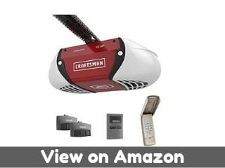 Craftsman ½ HP Chain Drive Garage Door Opener with two Multi-Function...