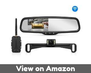 AUTO VOX T1400 Upgrade Wireless Backup Camera Kit, Easy Installation...