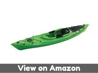 Sun Dolphin Aruba SS Sit-in Kayak (Lime, 12-Feet)