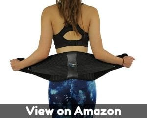ComfyMed Premium Quality Back Brace CM-102M with Removable Lumbar Pad...