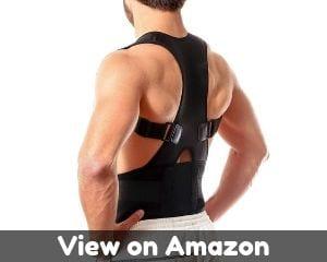 Back Brace Posture Corrector L - Fully Adjustable Support Brace -...