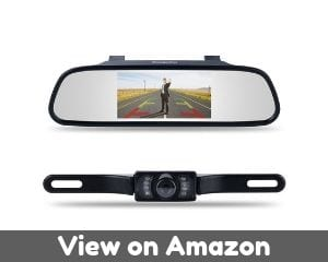 Chuanganzhuo 4332965129 4.3' Mirror Monitor for DVD/VCR/Car Reverse...