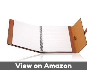 Leather padfolio by GALLAWAY LEATHER