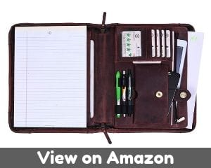 The Best Leather travel portfolio by AARON LEATHER GOODS