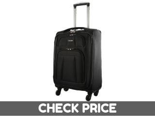 Medium Black Suitcase Black Color