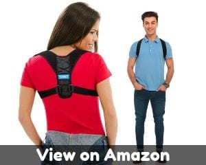 Posture Corrector for Men and Women - Comfortable Upper Back...