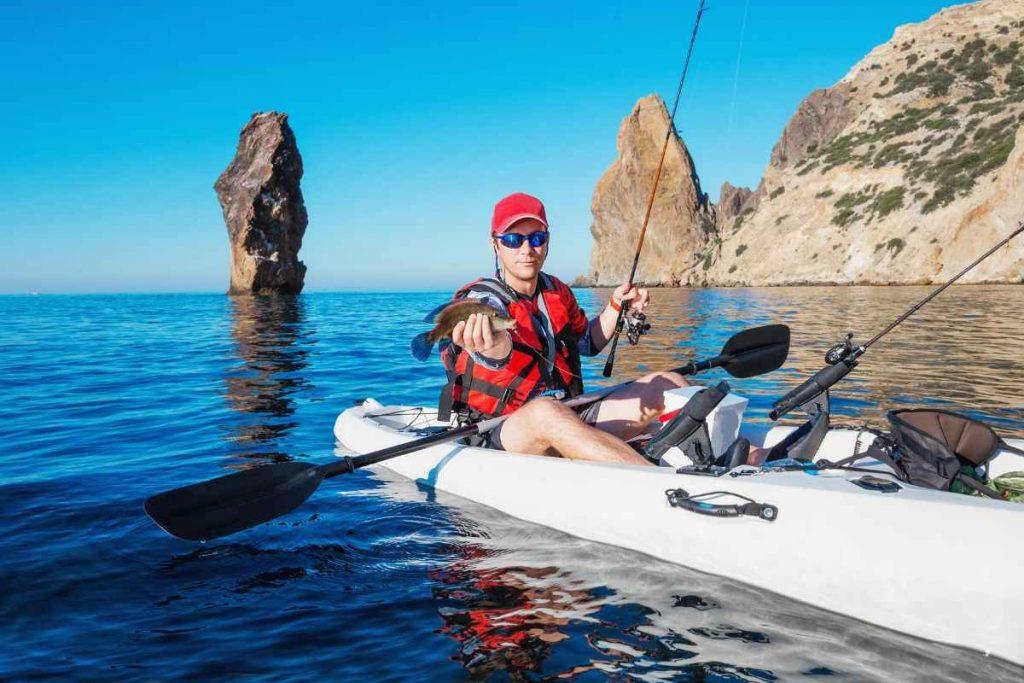 SUNDOLPHIN Sun Dolphin Boss SS Sit-On/Stand On Top Angler Kayak (Grass...