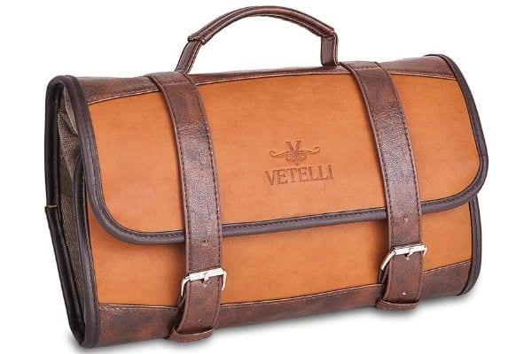 Buy the Vetelli Hanging Toiletry Bag for Men DoppKit