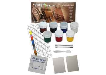 Leather Repair Doctor Complete DIY Kit | Premixed Glue & Paint...