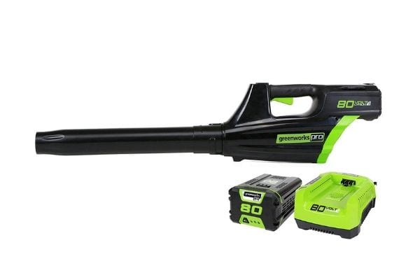 Greenworks Pro 80V Cordless Brushless Axial Blower, Battery and Rapid...