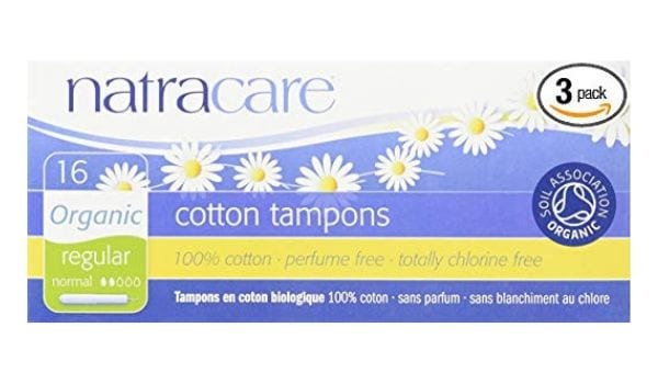 NatraCare Cotton Tampons, Best Organic