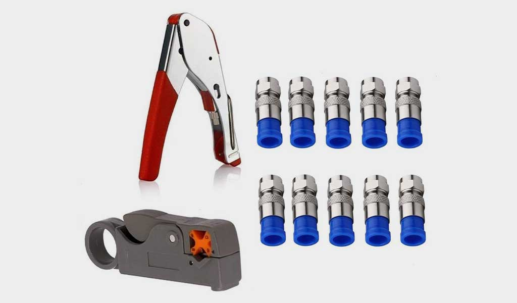 Gaobige Coax Cable Crimper Kit Tool