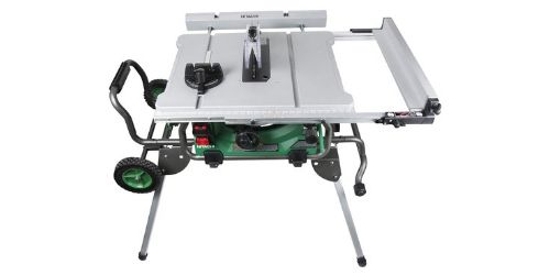 Portabel table saw from Hitachi.