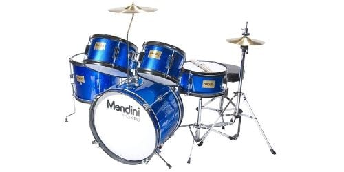 The Mendini by Cecilio junior drum set is one that is completely functional