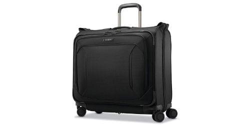 Samsonite Lineate Duet Wheeled Garment Bag, Obsidian Black