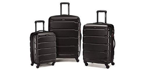 Three Samsonite Omni Travel Bags