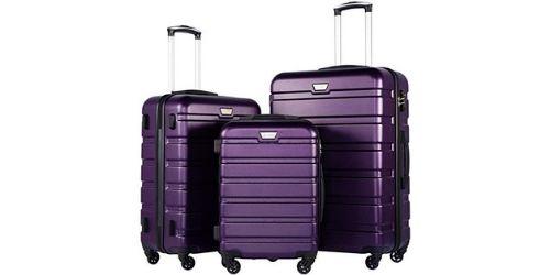 Set of 3 coolife Best Hardside Luggage