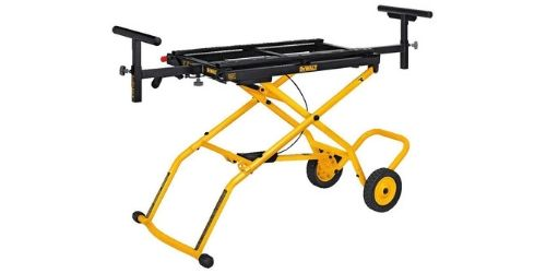 DEWALT Miter Saw Stand have Wheels to carry the stand easily.