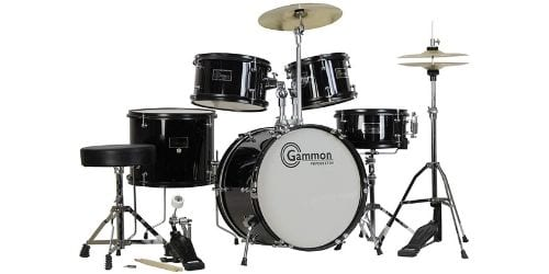 The Gammon 5-piece drum kit is an amazing choice for the kids