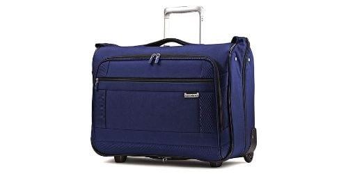 Samsonite Solyte Softside Carry-On Wheeled Garment Bag (True Blue)