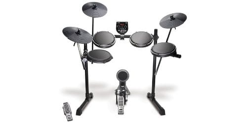 The Alesis DM6 USB kit drum set is easy to set up