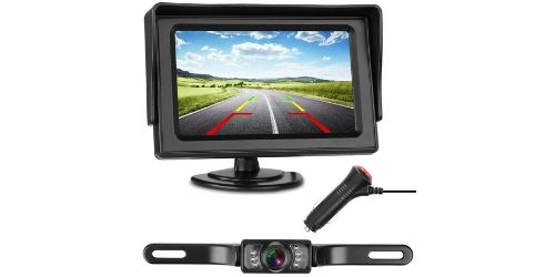 iStrong Backup Camera and Monitor Kit - Complementary Backup Kit