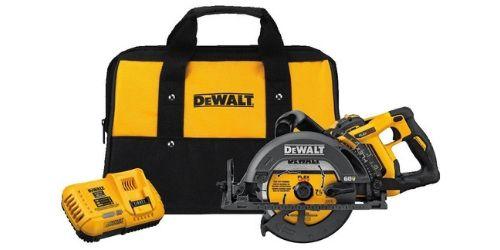 DEWALT DCS577X1 FLEXVOLT with 60V is a Worm Style Saw Kit