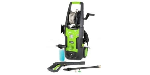 Greenworks 1700 PSI 13 Amp 1.2 GPM Pressure Washer with Hose Reel...