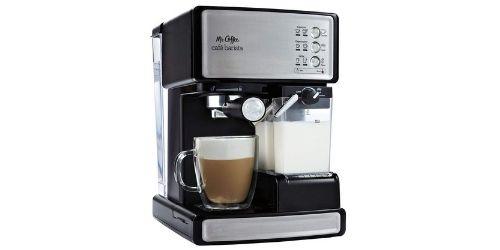 The Best Mr. Coffee Cafe Barista Black Silver Espresso Maker