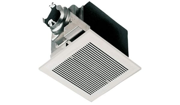 The Panasonic Whisper 290 CFM bathroom fan stands out among common exhaust fans