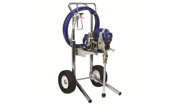 The Graco Pro 210ES, the best airless paint sprayer
