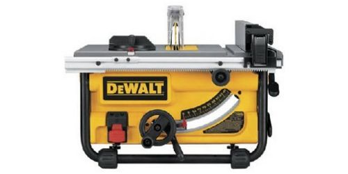DEWALT DWE7480 is one of the best compact Jobsite table saws i