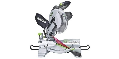 Genesis GMS1015LC Compound Miter Saw with Laser Guide and Positive Miter