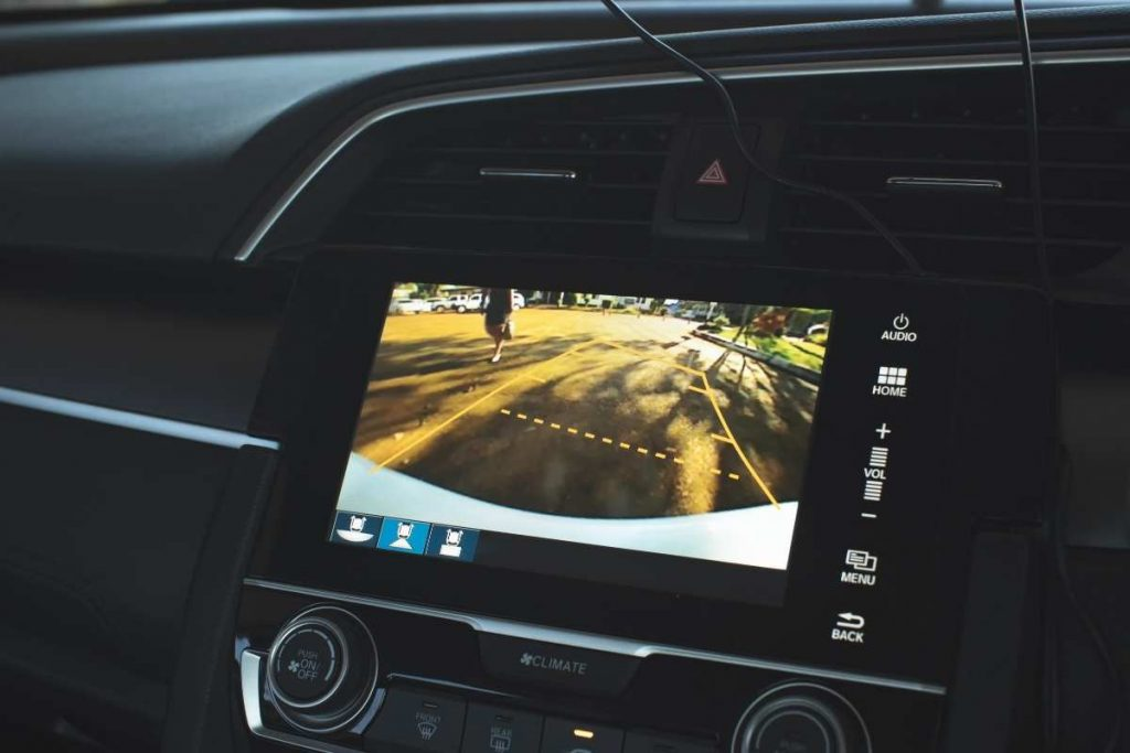 """Chuanganzhuo 4.3"""" backup camera for sale"""