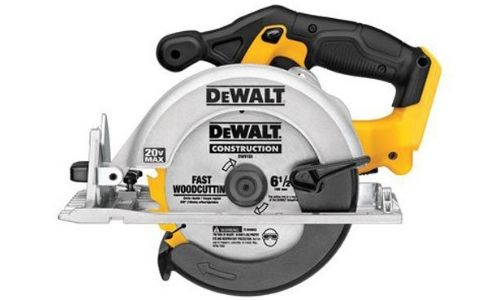 This cordless circular saw by DEWALT has the power of 5150 to 5250rpm