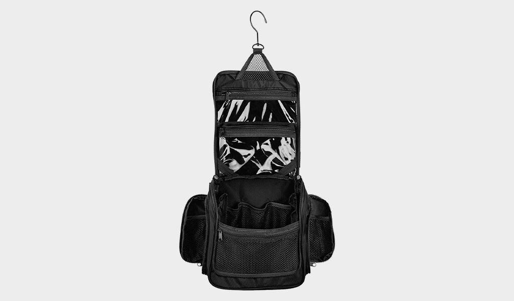 Medium Size Hanging Toiletry Bag with Detachable TSA