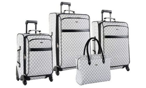 Signature Spinner Four Piece Pierre Cardin Luggage 0208P01