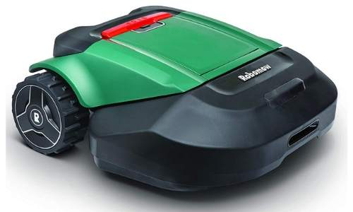 This robot lawnmower has the features that you will dig in your ideal lawnmower.