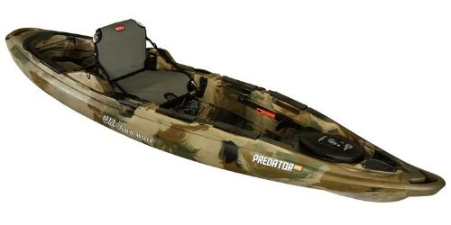 The Old Town Predator MX leads the market of kayaks.