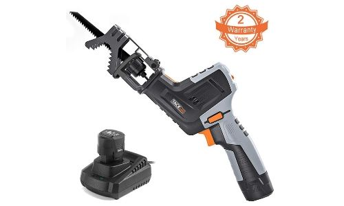 The last reciprocating saw on our list is this one from Tacklife.