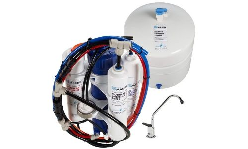 The Home Master Artesian Under sink Reverse Osmosis provides solutions,.