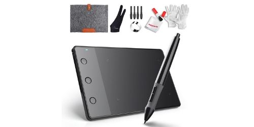 Huion is a cheaper alternative if you're looking to a graphics tablet