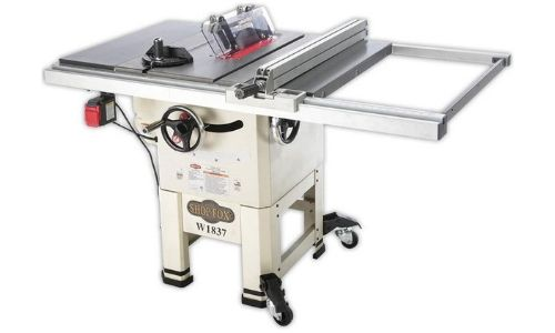 best hybrid table saw under 1500