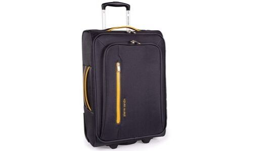 Soft Shell Suitcase with Durable Wheels