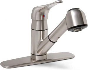 3Premier 120161LF Sonoma Single-Handle Kitchen Faucet with Pull-Out Spout