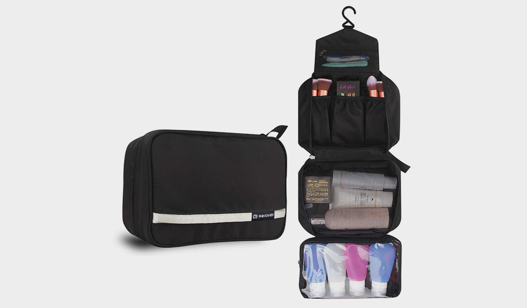 Cosmetic Pouch Toiletry Bags Travel Business Handbag Waterproof Compact