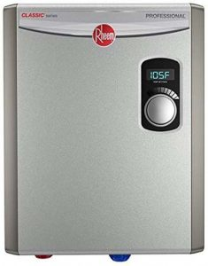 5Rheem 240V 2 Heating Chambers RTEX-18 Residential Tankless Water Heater