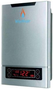 """6AB WiseWater Tankless Instant Water Heater Electric 18kW 34""""NPT for Domestic Hot Water Heating"""
